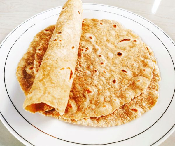 Oats wheat chappati